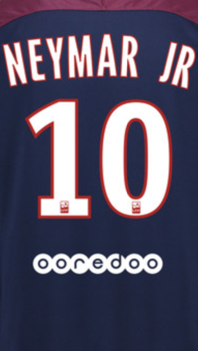 online store 6cdda 52556 2017-18 PSG Paris NEYMAR JR 10 Home Shirt OFFICIAL MonBlason ...